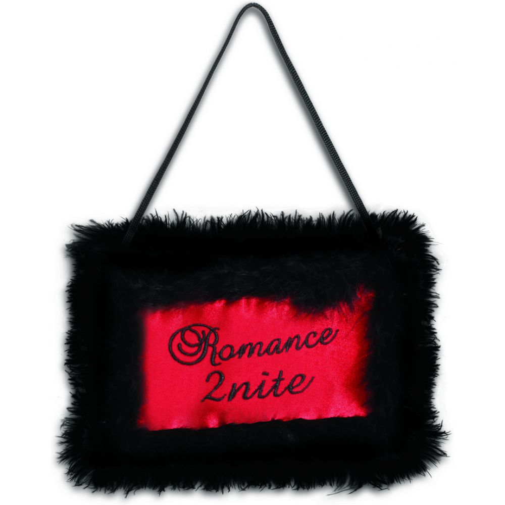 Sportsheets XOXO 2U Romance 2 Nite Door Hanger Pillow Red - View #2