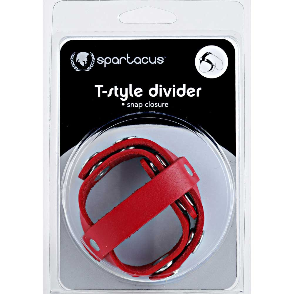 Spartacus Redline Oiltan T Style Ball Divider Red - View #3