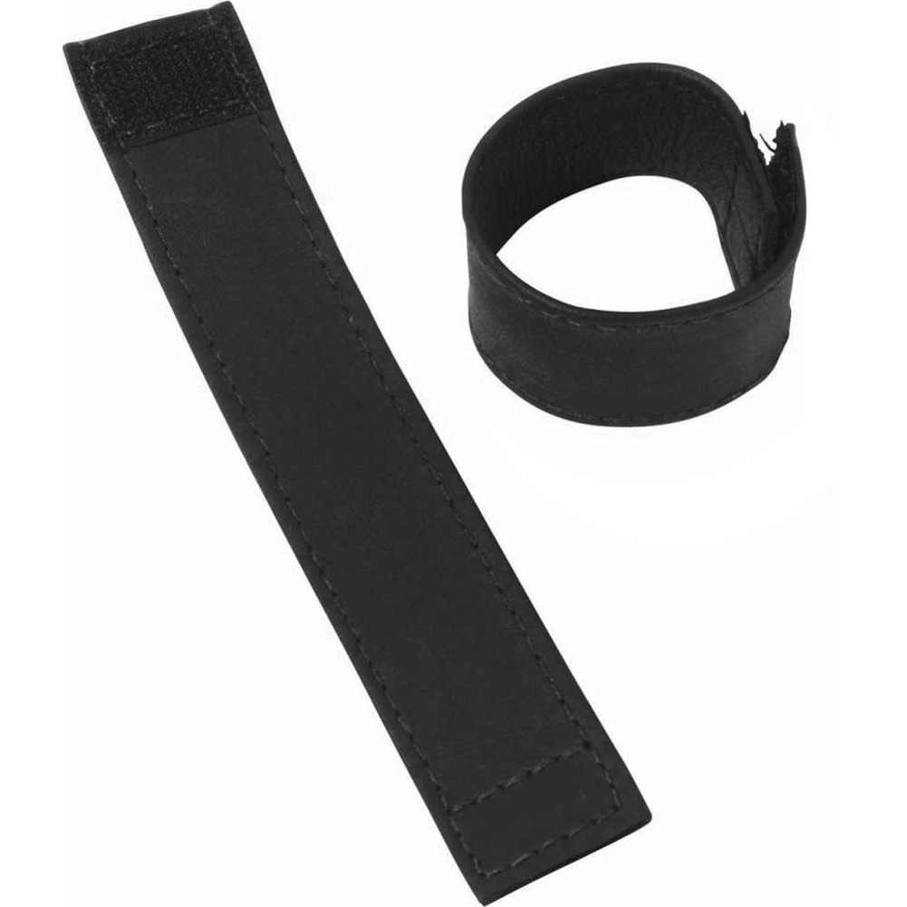 "Spartacus Leather C and B Gear Velcro Stretcher 1"" Black - View #3"