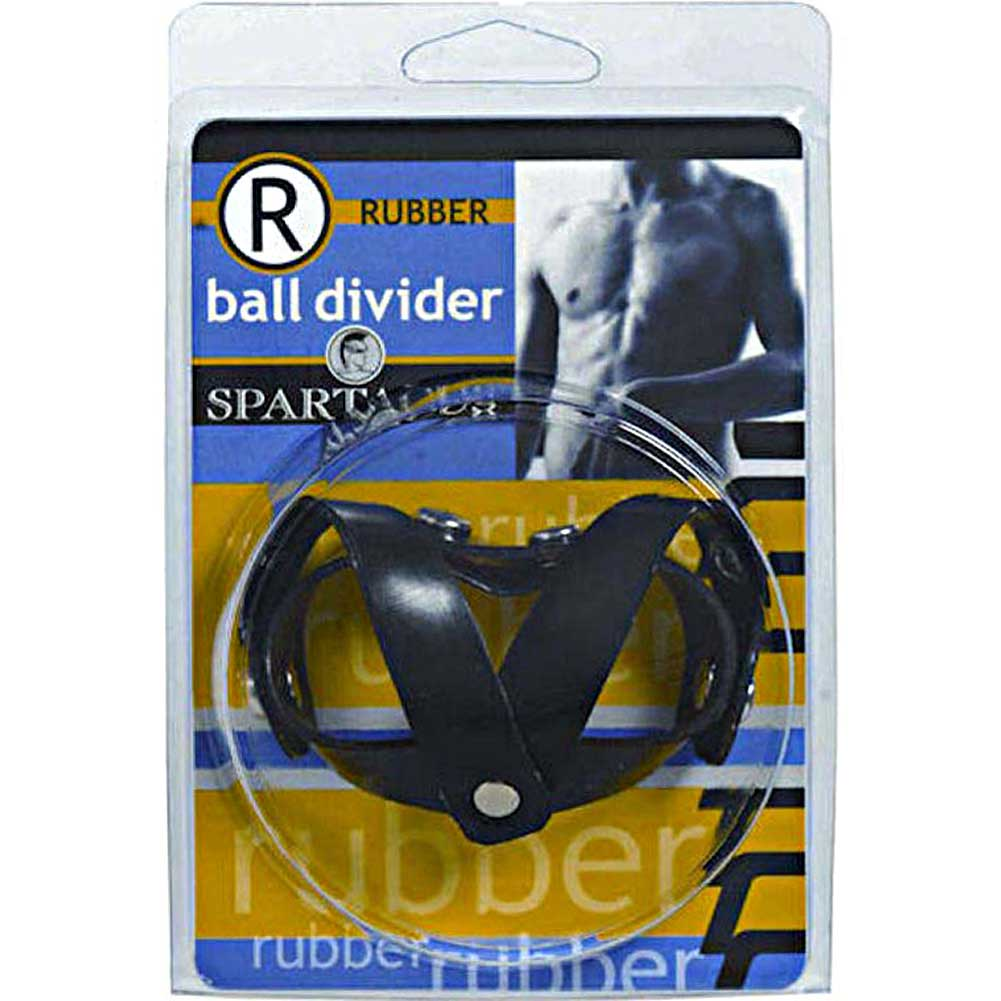 Spartacus Rubberline V Style Ball Divider Black - View #3