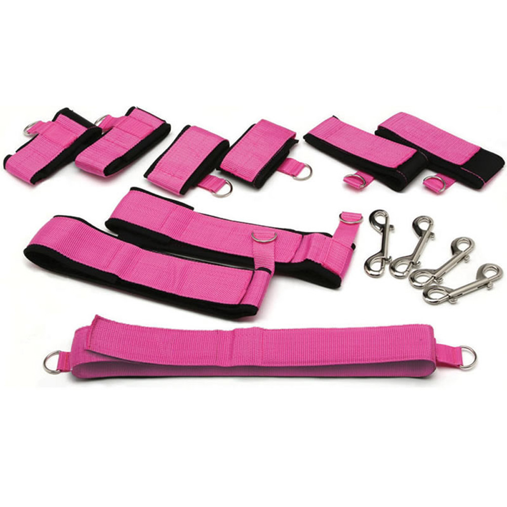 Topco Waterproof Sinners Full Body Restraints Pink - View #2