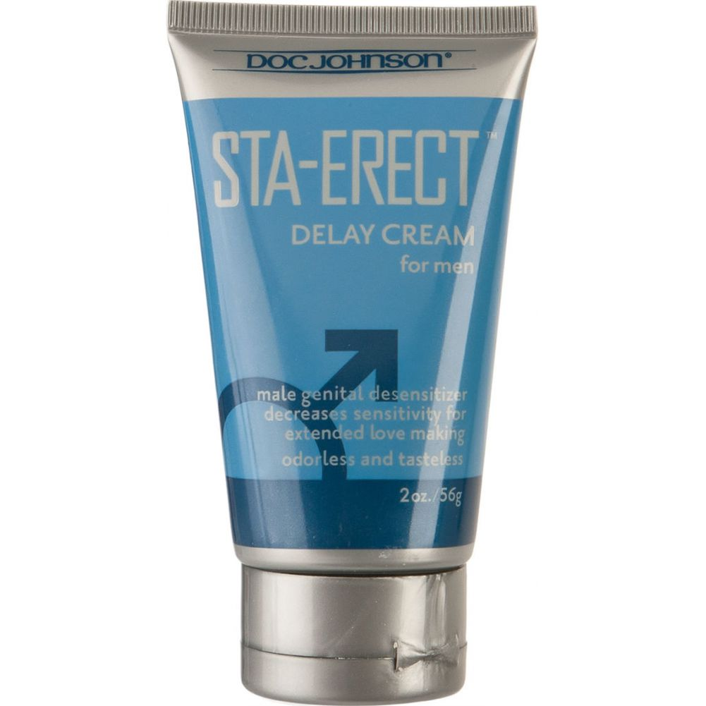 Doc Johnson Sta Erect Delay Cream for Men 2 Oz 56 G - View #1