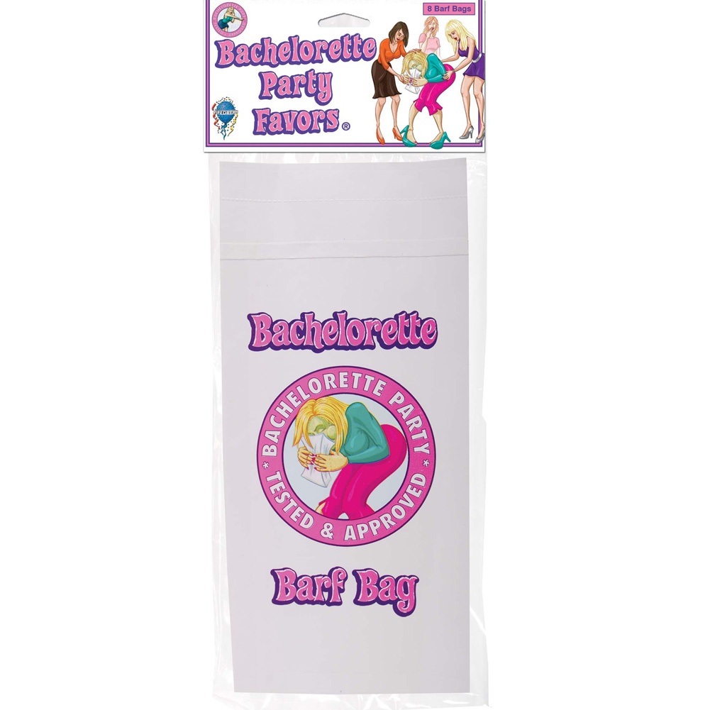 Bachelorette Party Favors Barf Bag Multicolor - View #1