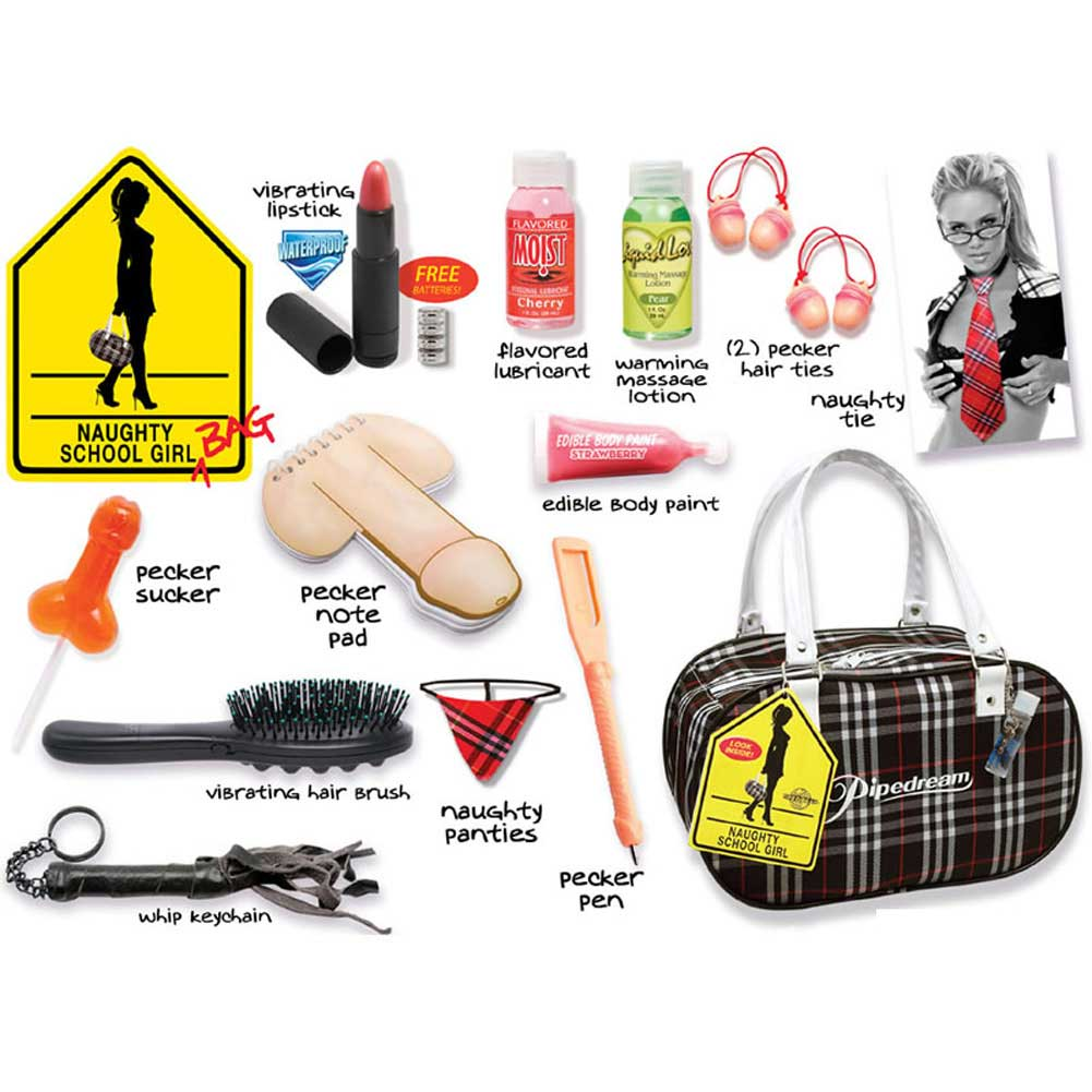 Pipedream Naughty School Girl Bag Kit - View #2