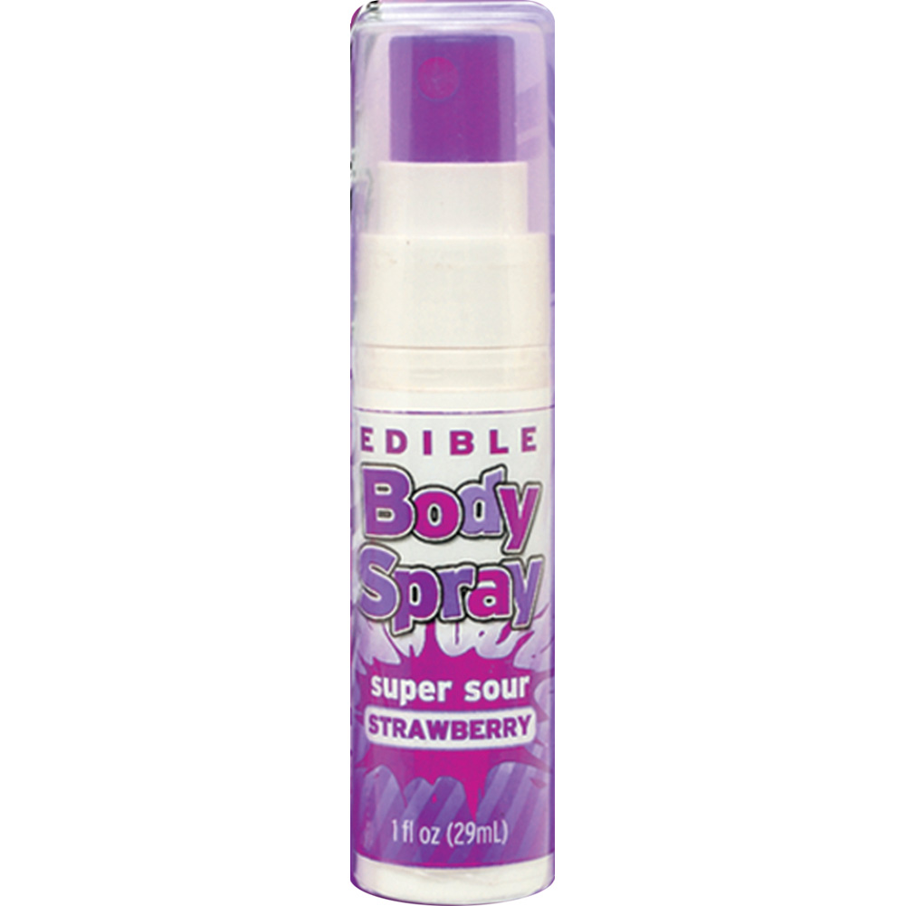 Edible Body Spray Super Sour Grapes 1 Oz - View #2
