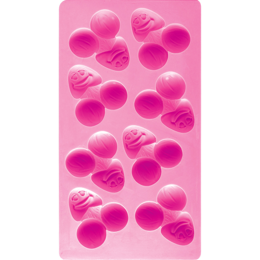 Bachelorette Party Favors Pecker Ice Tray - View #2