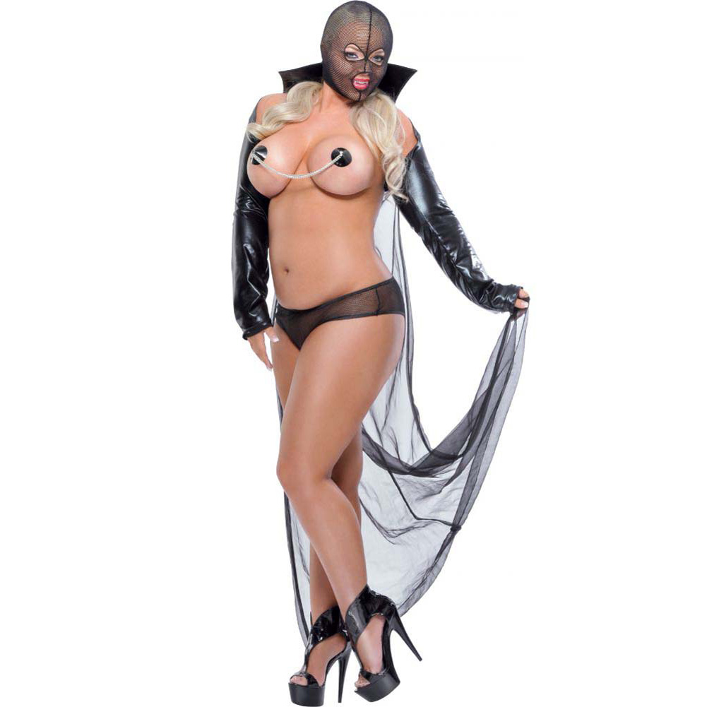 Fetish Fantasy Lingerie Twilight Night Costume Diva Black - View #1