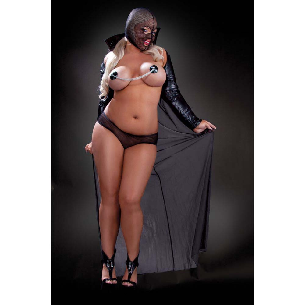 Fetish Fantasy Lingerie Twilight Night Costume Diva Black - View #3