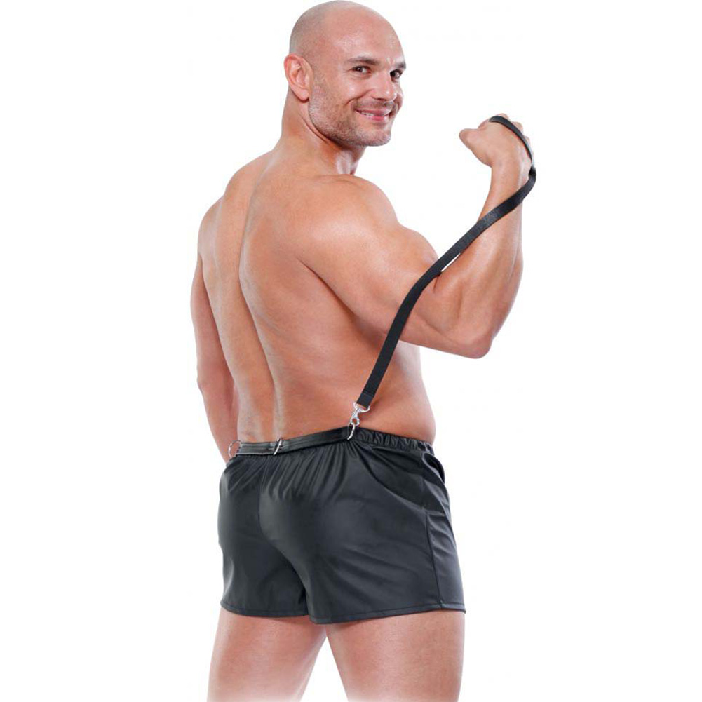 Fetish Fantasy Lingerie Male Obedience Boxer Large/Extra Large Black - View #1