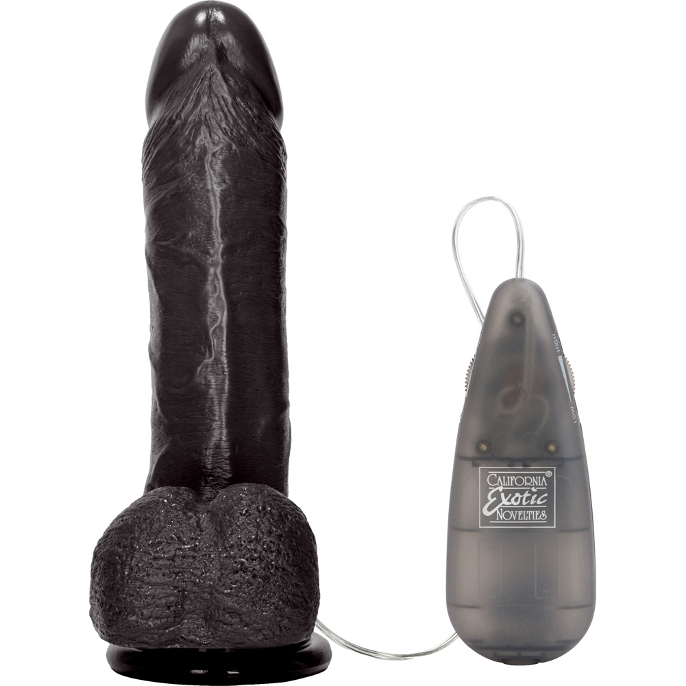 "CalExotics Multispeed Emperor Vibrator 6"" Black - View #3"