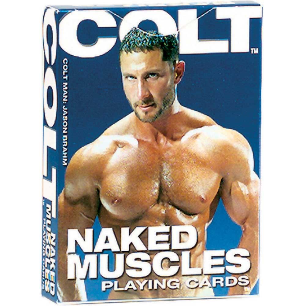 COLT by CalExotics Naked Muscles Playing Cards - View #2