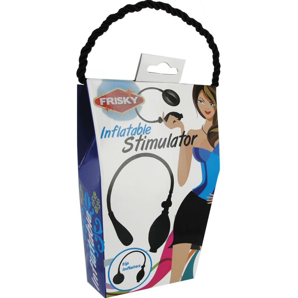 Frisky Inflatable Stimulator Black - View #1
