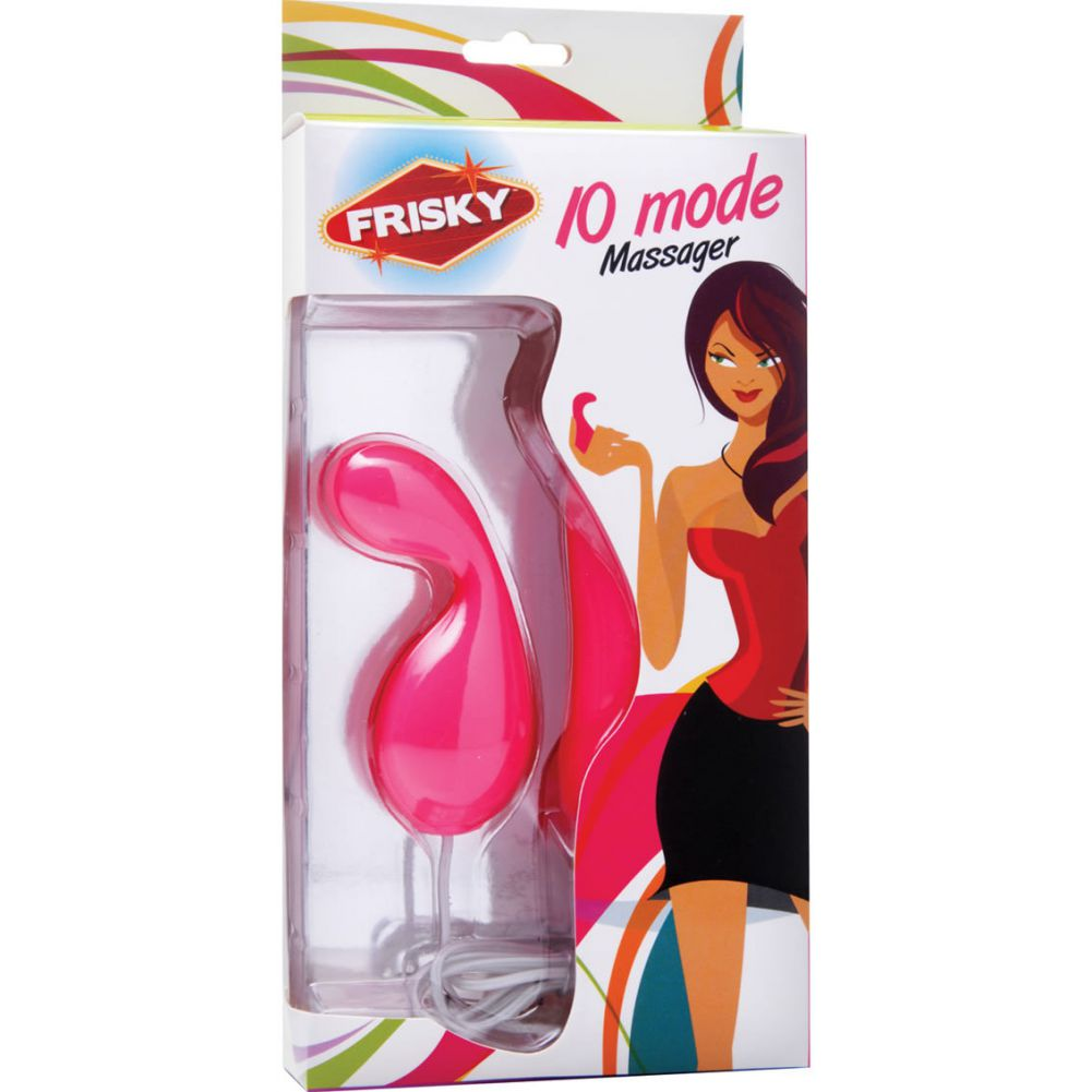 "Frisky 10 Mode Remote Bullet Pink 3.5"" - View #1"