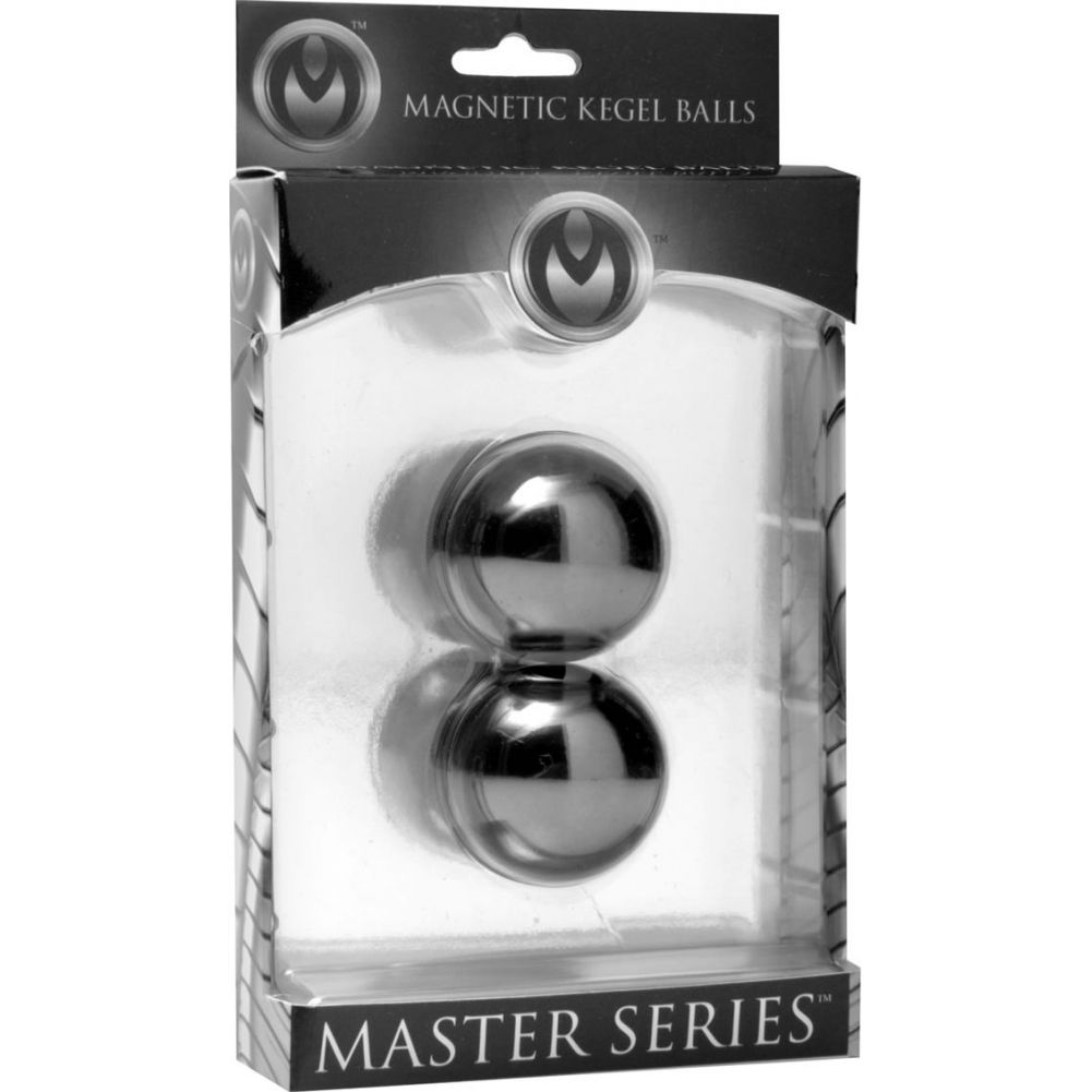 "Master Series Magnus 1 Magnetic Metal Kegal Balls 1"" 2 Each Per Pack - View #1"