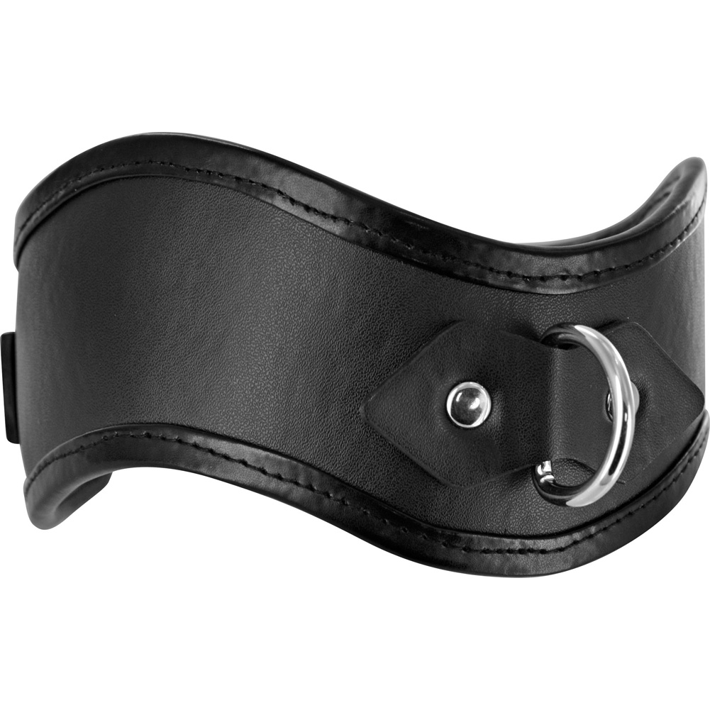 Frisky Straight Up Locking Posture Collar Black - View #2