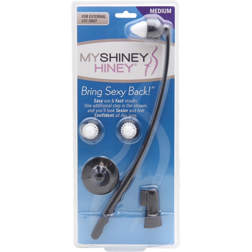 My Shiney Hiney Medium Bristle Cleaning Kit Black - View #1
