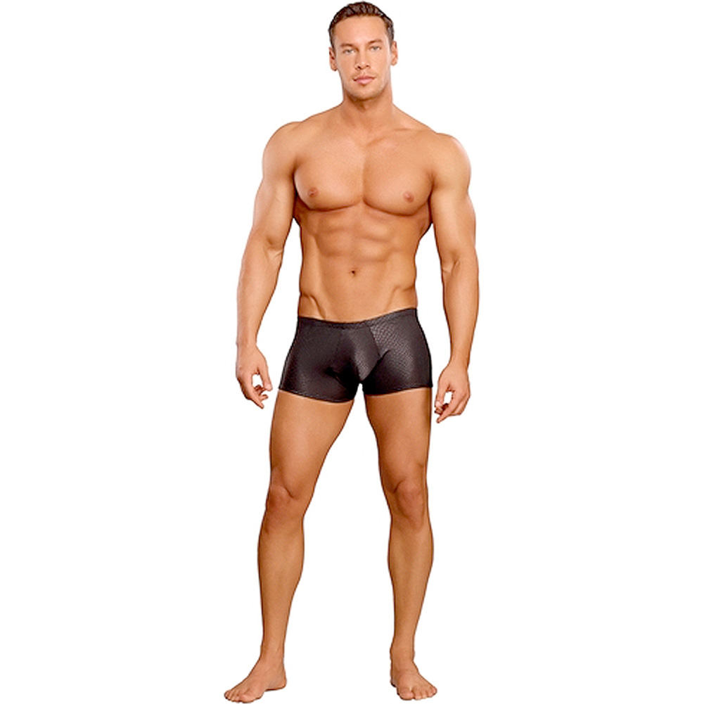 Male Power Cobra Mini Short Small Black - View #3