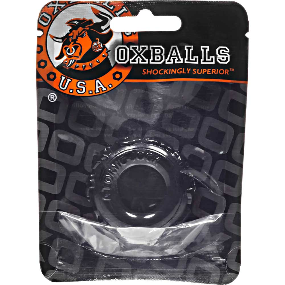 OxBalls Atomic Jock Jelly Bean Cockring Black - View #1