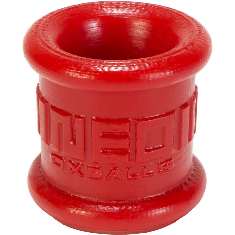 Oxballs Neo Stretch Silicone Tall Ball Stretcher Red - View #2
