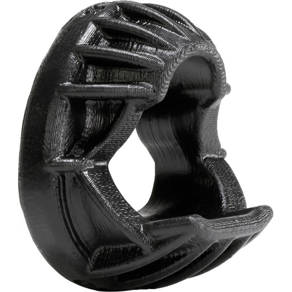 OxBalls Puma Silicone Cockring Black - View #1