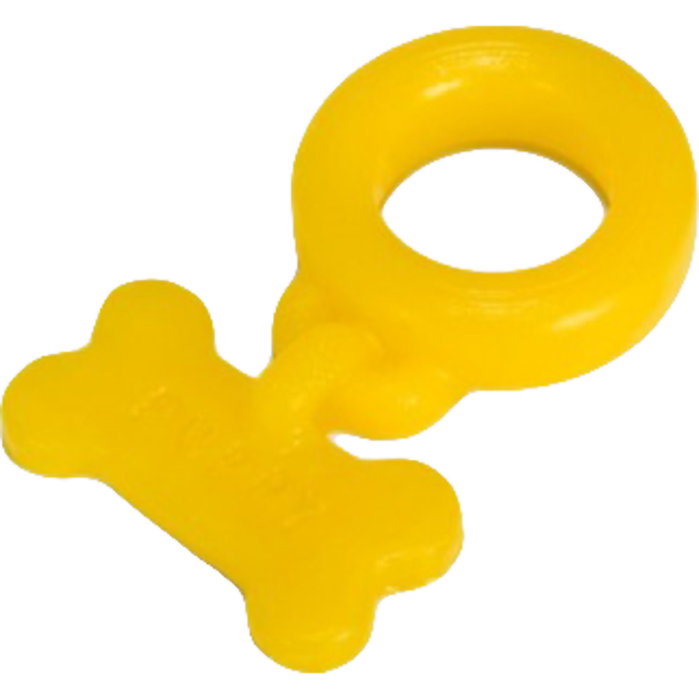 OxBalls Puppy Silicone Cockring Yellow - View #1