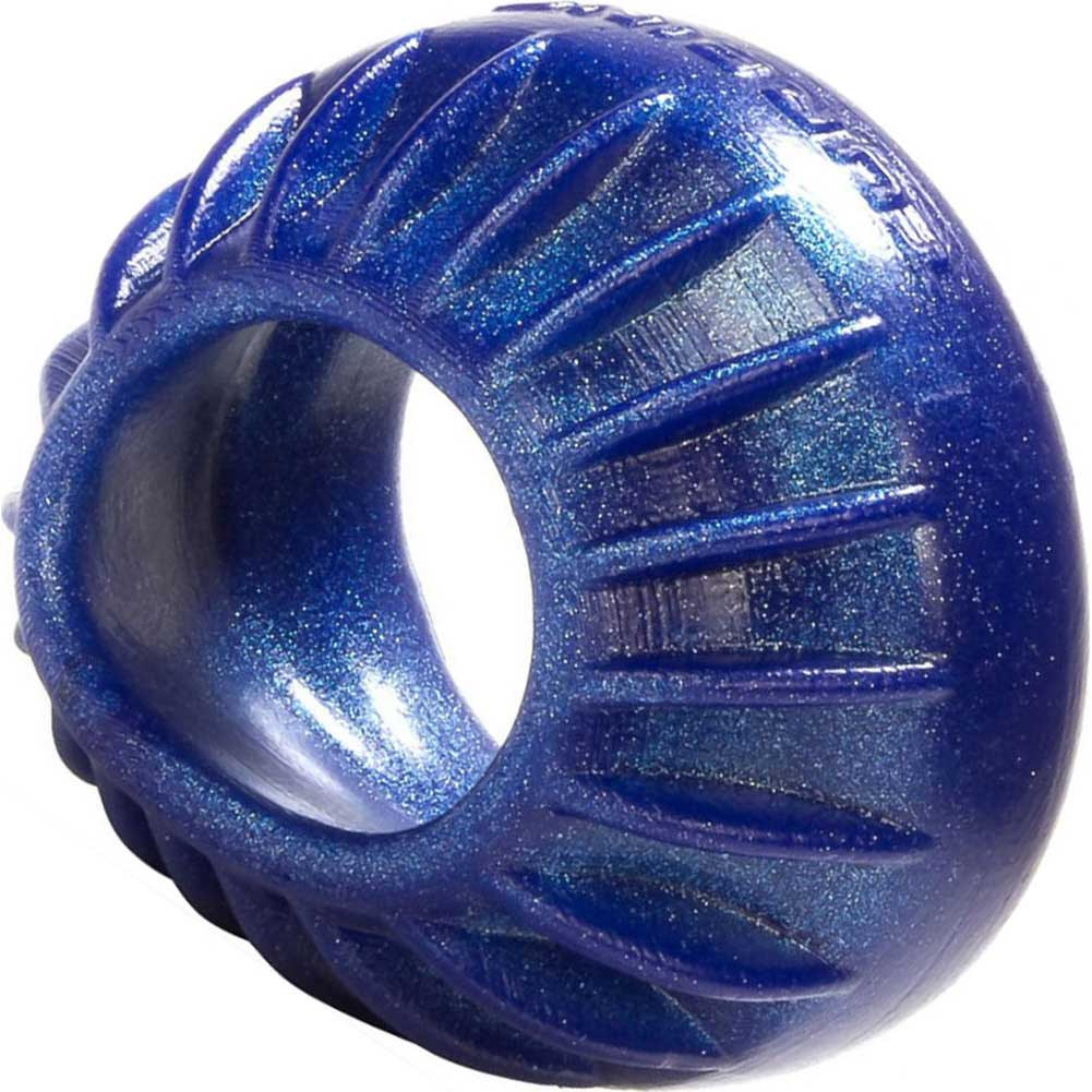 "OxBalls Turbine Silicone Cockring 1.75"" Blue Balls - View #1"