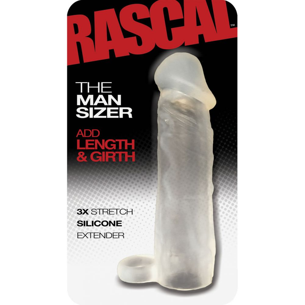 "Rascal the Man Sizer Silicone Extender Clear 6.5"" - View #1"