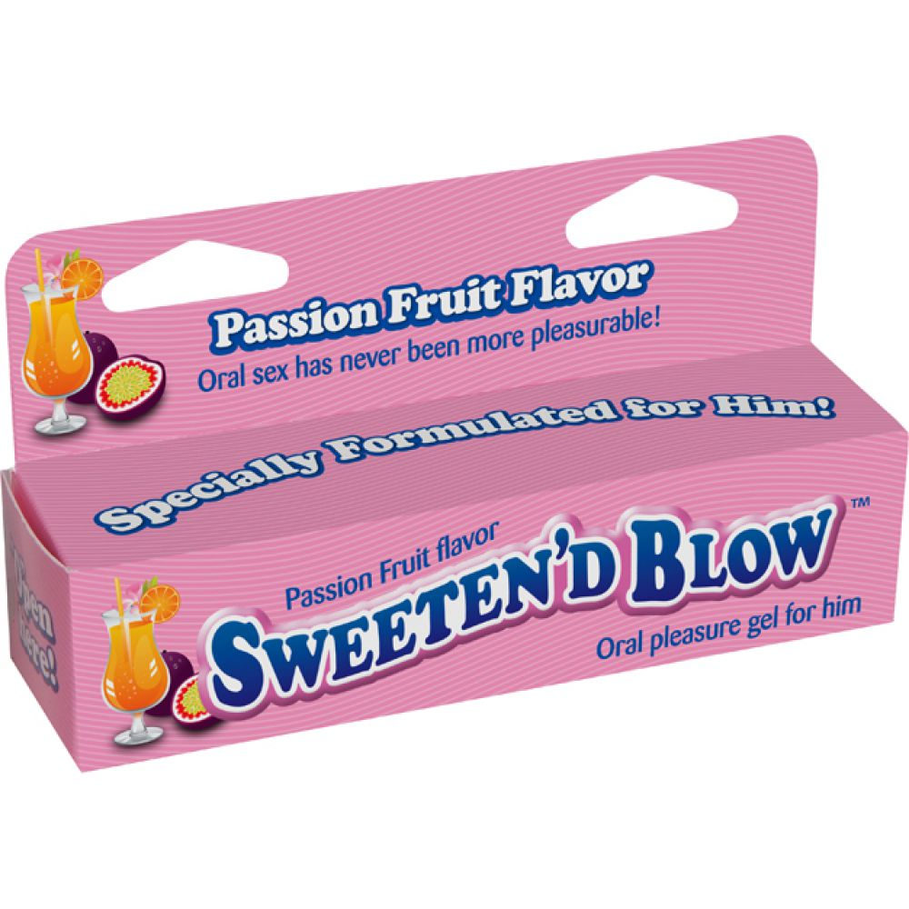 Little Genie SweetenD Blow Oral Pleasure Gel 1.5 Ounce 45 mL Passion Fruit - View #1