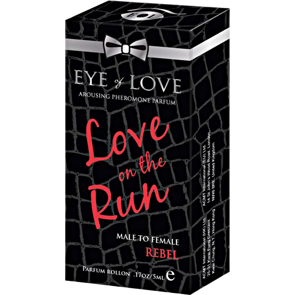 Eye of Love Love On the Run Rebel Arousing Pheromone Parfume for Men 5 mL - View #1