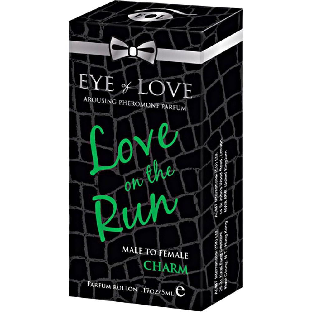 Eye of Love Love On the Run Charm Arousing Pheromone Parfume for Men 5 mL - View #1