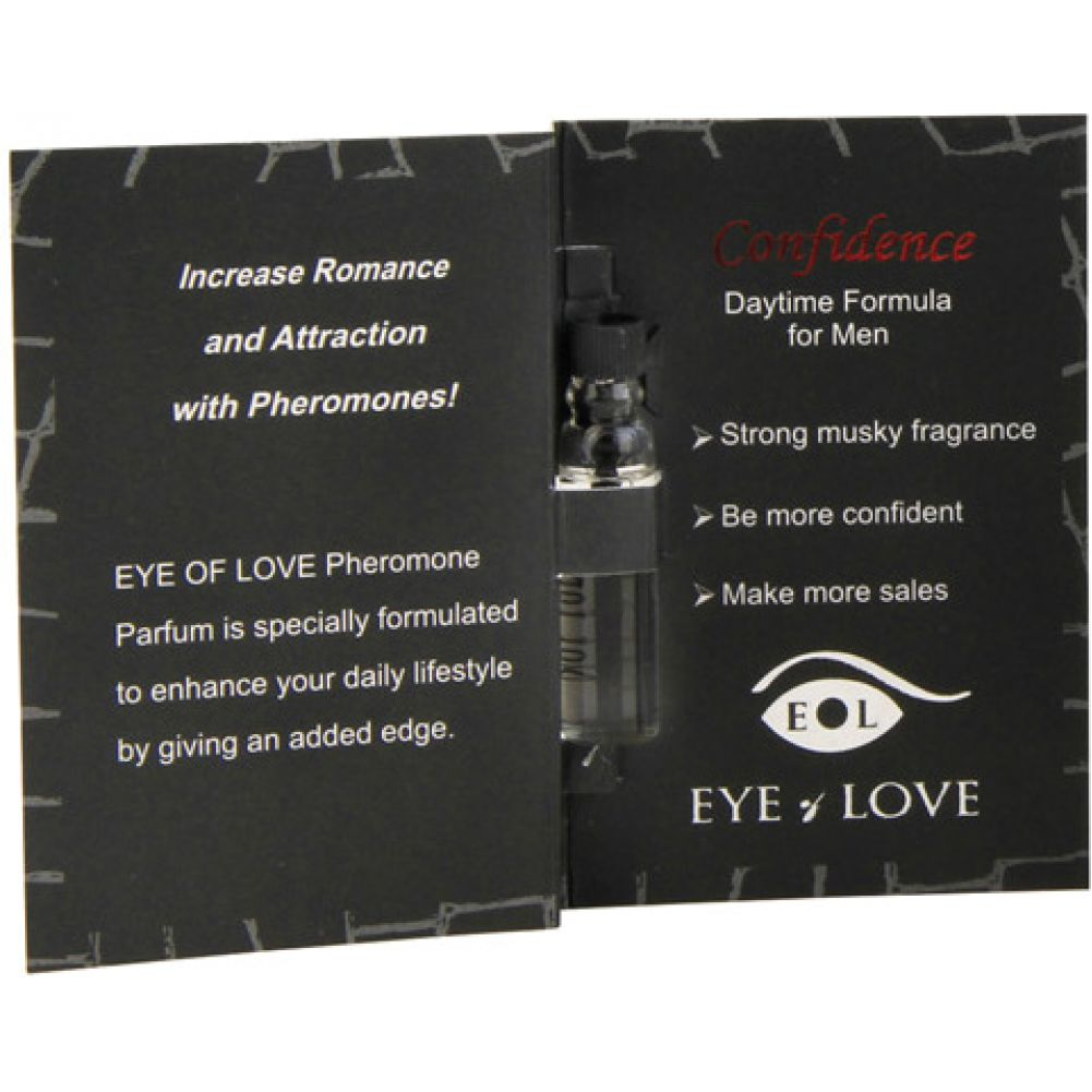Eye of Love Confidence Male to Female Arousing Pheromone Parfume 0.03 Fl.Oz 1 mL - View #1