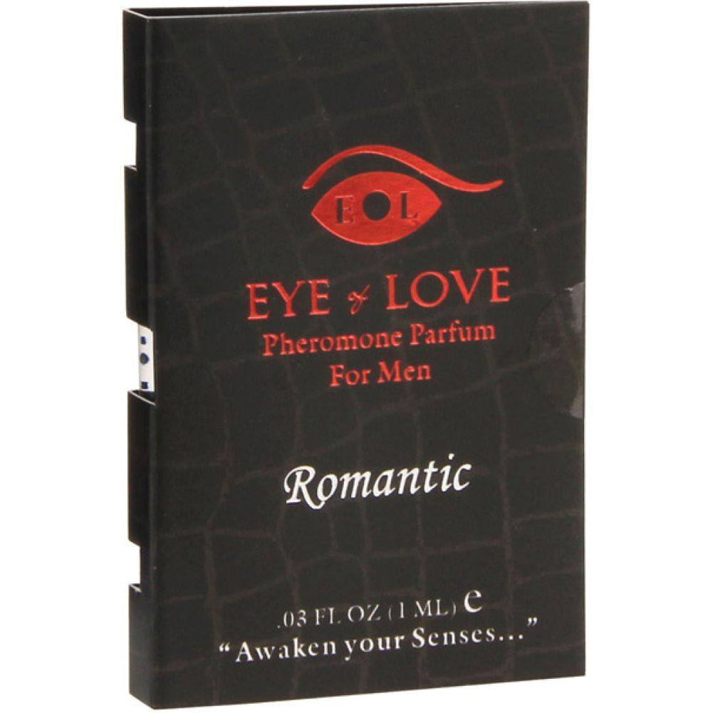 Eye of Love Romantic Male to Female Arousing Pheromone Parfume 0.03 Fl.Oz 1 mL - View #2