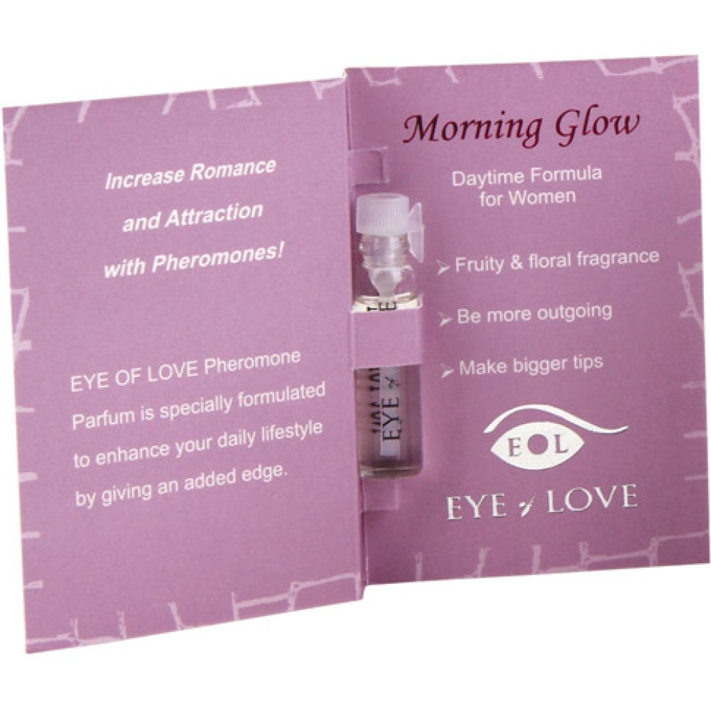 Eye of Love Morning Glow Female to Male Arousing Pheromone Parfume 0.03 Fl.Oz 1 mL - View #1