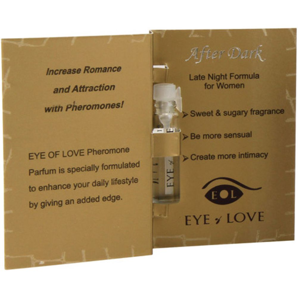 Eye of Love After Dark Female to Male Arousing Pheromone Parfume 0.03 Fl.Oz 1 mL - View #1