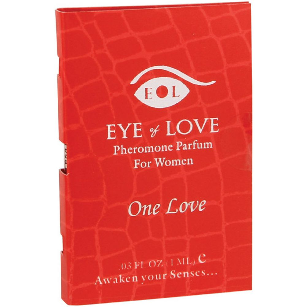 Eye of Love One Love Arousing Pheromone Parfume for Women 0.03 Fl.Oz 1 mL - View #1