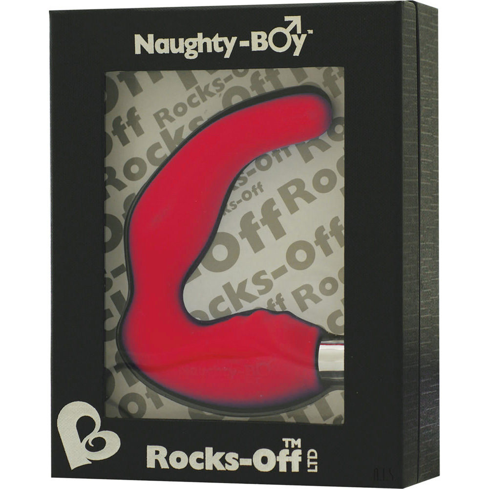 Rocks Off Naughty Boy Personal Vibrator Red - View #3