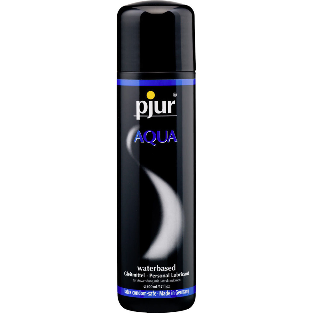 Pjur Eros Aqua Water-Based Lubricant 17 Fl.Oz 500 mL - View #1