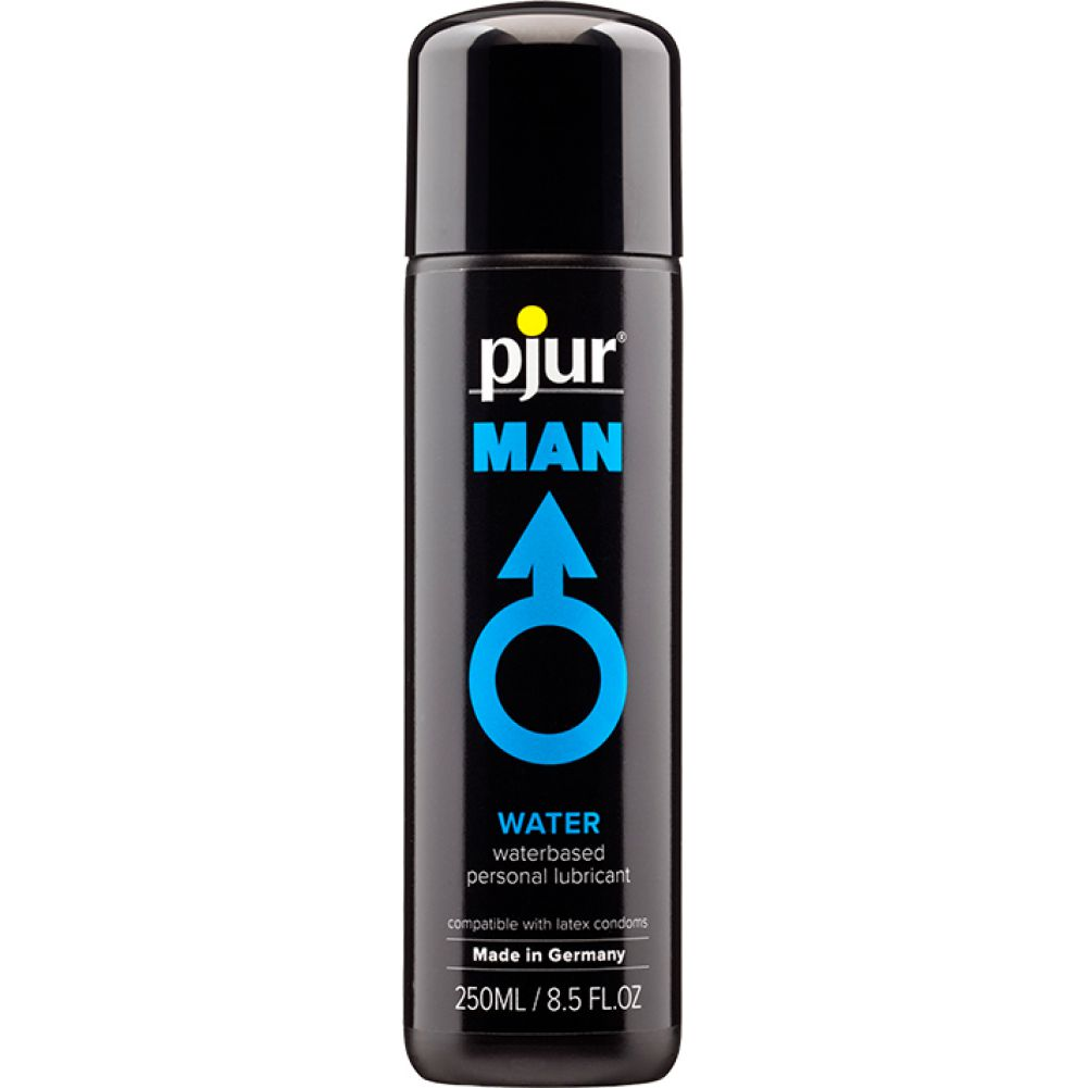 Pjur Man Basic Waterglide Water-Based Lubricant 8.5 Fl.Oz 250 mL - View #1