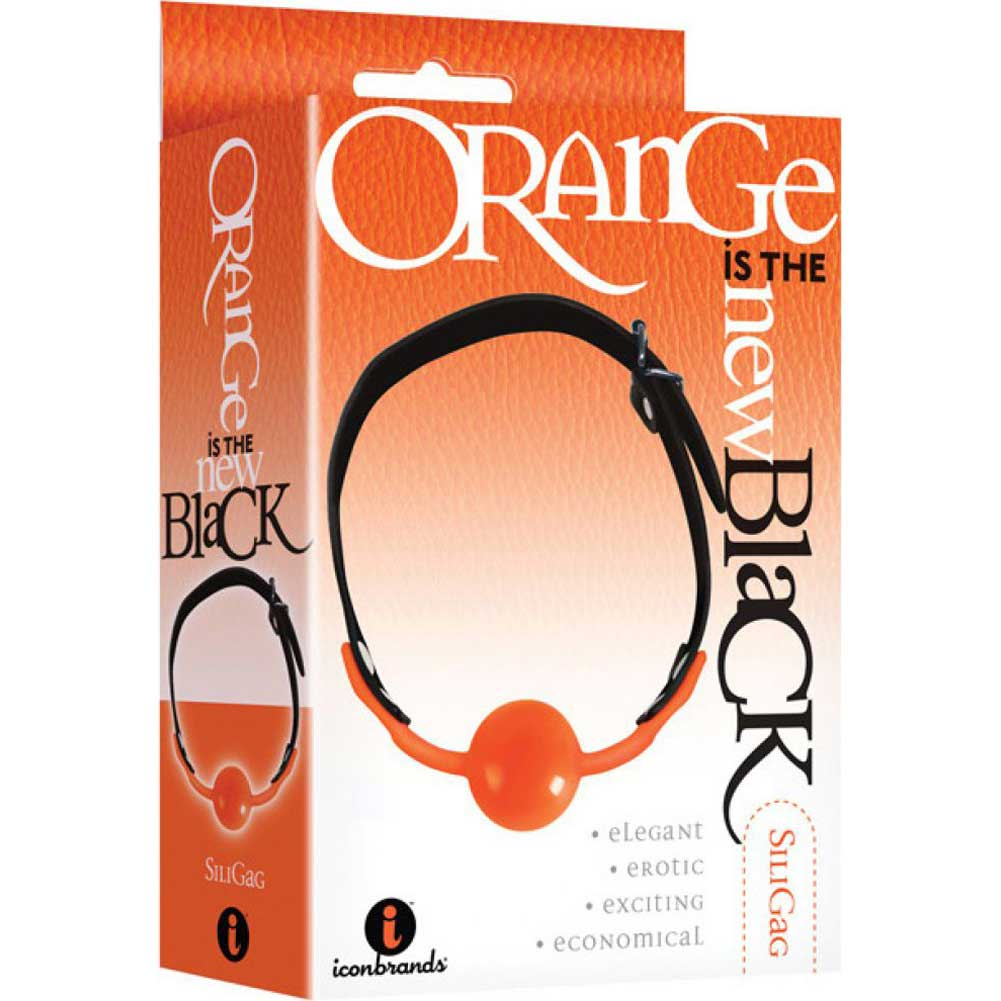 Icon Brands Orange Is the New Black Siligag Silicone Ball Gag - View #1
