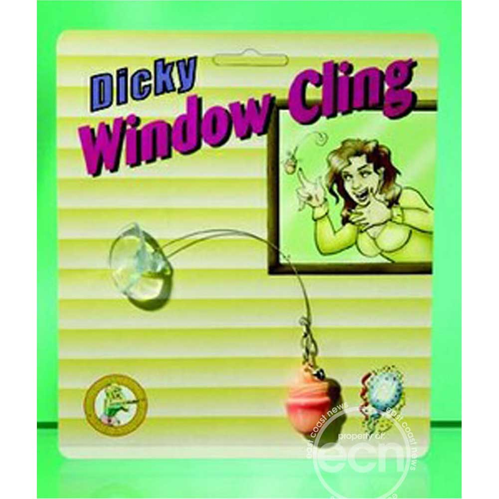 Pipedream Dicky Window Cling Gag Gift - View #1