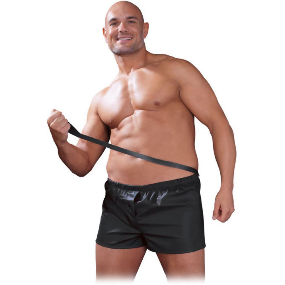 Pipedream Fetish Fantasy Obedience Boxer for Him 2XL/ 3XL Black - View #2