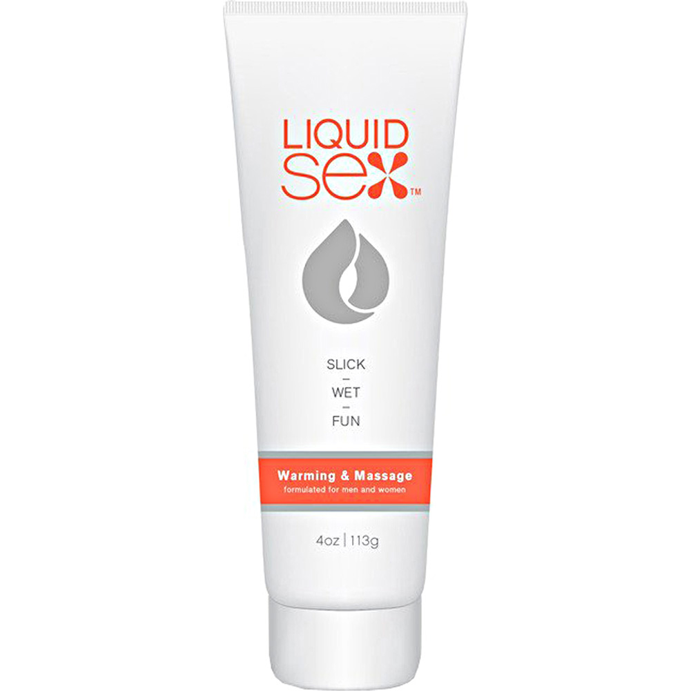 Liquid Sex Warming and Massage Lubricant for Men and Women 4 Oz 113 G - View #1