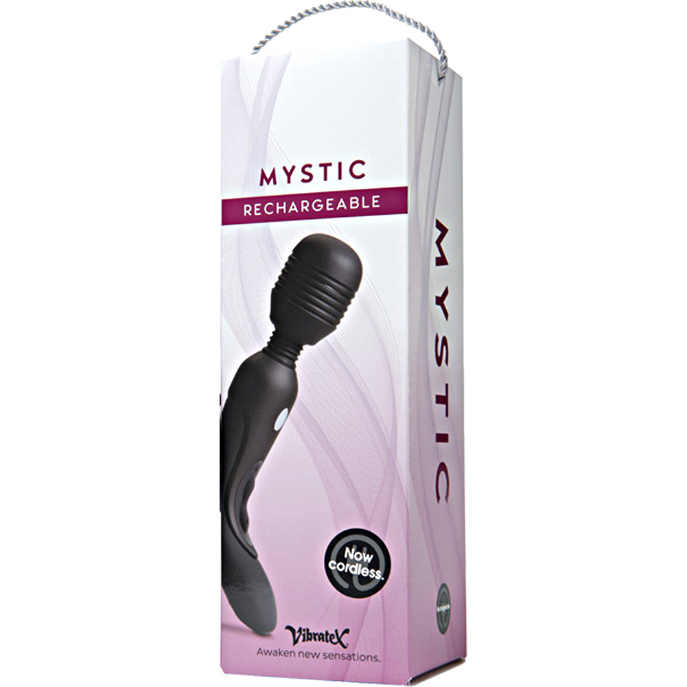 Vibratex Mystic Rechargeable Personal Massager Black - View #1