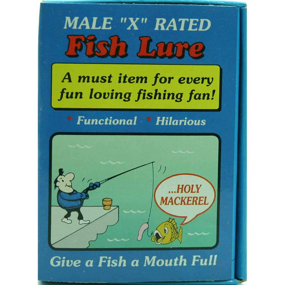 Male X-Rated Fish Lure Gag Gift - View #1