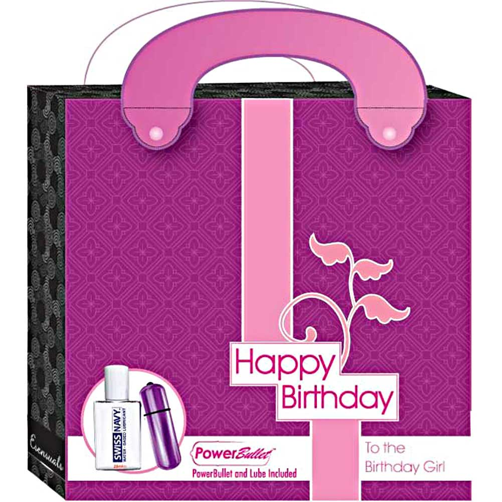 Esensuals Happy Birthday Power Bullet and Lube Kit - View #1