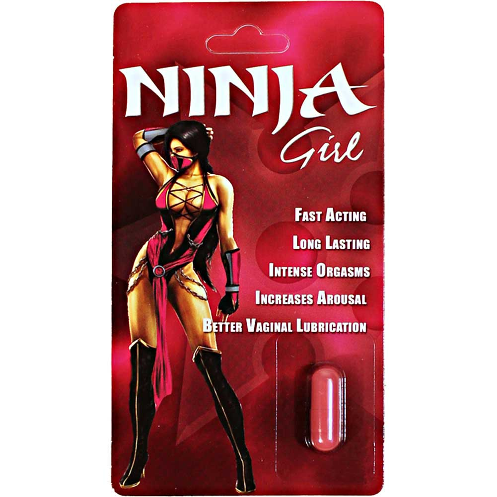 Ninja Girl 1000 Mg 1 Count 30 Piece Display - View #1