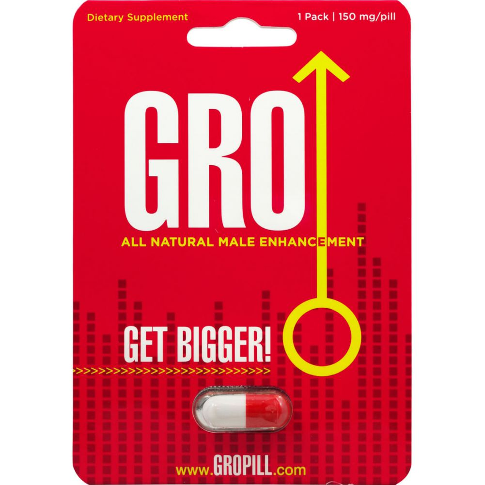 Gro All Natural Male Enhancement Pill 1 Each Per Pack - View #1
