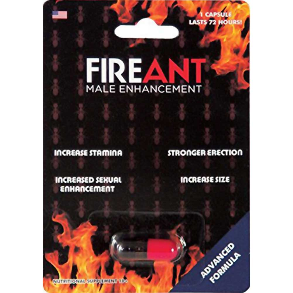 Fire Ant Male Enhancement 1 Count Capsule - View #1