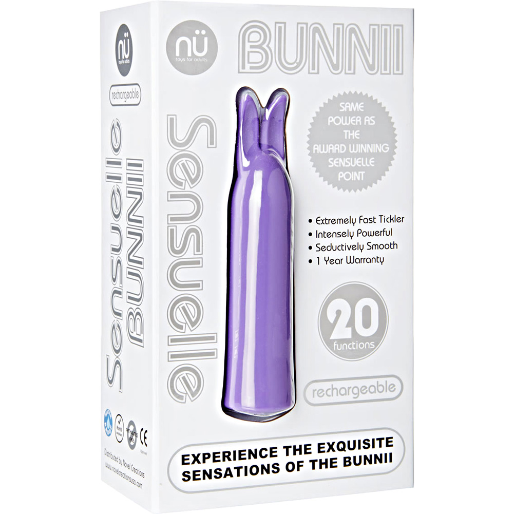 Nu Sensuelle Bunnii Intensely Powerful Personal Vibrator Purple - View #4