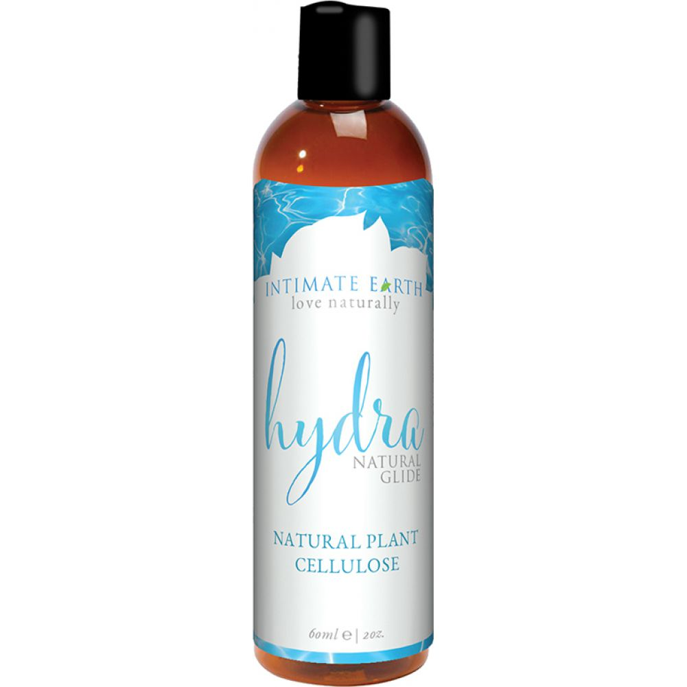 Intimate Earth Hydra Natural Glide Water Based Lubricant 2 Fl.Oz 60 mL - View #1